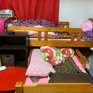 スライド式二段ベッド
