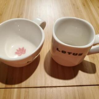 決まりました💦【カフェロータス】マグカップ2客【郵送or福…