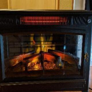 電気暖炉 値下げしました