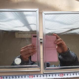 卓上 鏡 2枚