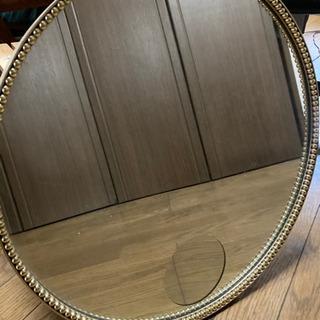 丸型 鏡 ピップエレキバン15周年記念品