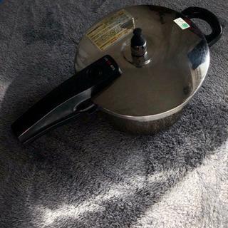 圧力鍋 オール熱源対応 レシピ付き取扱説明書