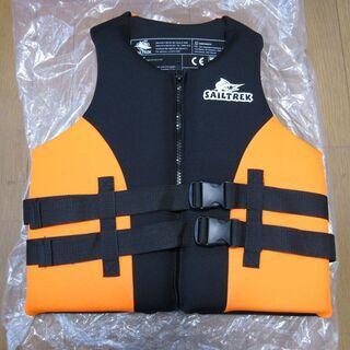 ライフジャケット オレンジ/ブラック L×1 M×2 新品…