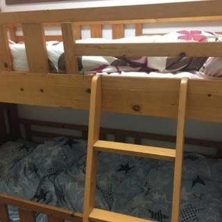 【ネット決済】子供用二段ベッド