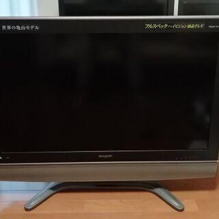 シャープAQUOS 37型液晶テレビ 世界の亀山モデル 2007年製