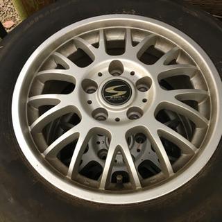 タイヤ付きアルミホイール!195 65 R15