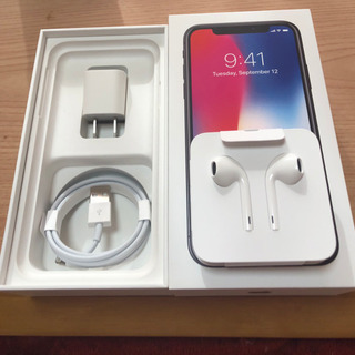 iPhone10 付属品と箱 ※本体なし