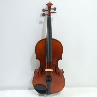 メンテ済み チェコ製 分数 1/8 バイオリン Antonius Stradivarius.1713 モデル 未使用 弓 アジャスター内蔵テールピース 希少サイズ 全国発送対応 中古バイオリン 愛知県清須市より 管理(カ)2434 - 清須市