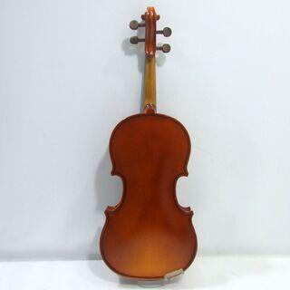 メンテ済み チェコ製 分数 1/8 バイオリン Antonius Stradivarius.1713 モデル 未使用 弓 アジャスター内蔵テールピース 希少サイズ 全国発送対応 中古バイオリン 愛知県清須市より 管理(カ)2434 - 楽器