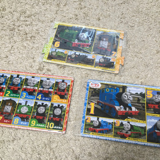 トーマスのパズル3セット!