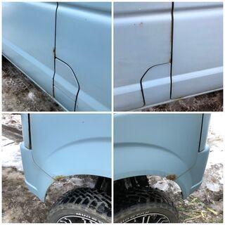 ご成約です★車検長い★4インチリフトアップ 車検R4年1月 DA64V 4WD 5MT 全塗装 エブリィ マッドタイヤ オフロード 4インチアップ − 青森県