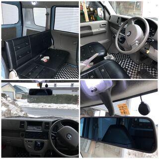 ご成約です★車検長い★4インチリフトアップ 車検R4年1月 DA64V 4WD 5MT 全塗装 エブリィ マッドタイヤ オフロード 4インチアップ - スズキ