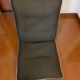座椅子、リクライニング付き座椅子