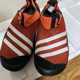 【美品】adidas ウォーターシューズ 27.5cm