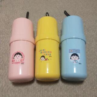 新品 ちびまる子ちゃん ペットボトルケース 3種セット