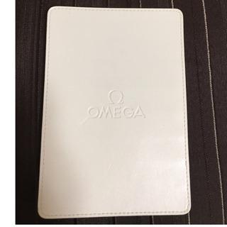 OMEGAの革製のカード入れ