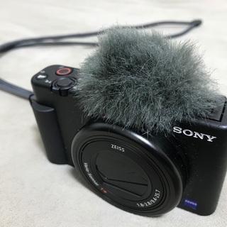 【ネット決済・配送可】【保証2年8ヶ月残】ソニー ZV-1 黒・...