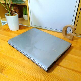 corei5でSSD搭載、メモリ12Gの超高性能NEC☆ 12.1インチのコンパクト軽量で持ち運び便利♪ オシャレな光沢シルバー♪  最新Windows10 64Bit!  高速PC★ NEC VersaPro   高級感  ノートパソコン 無線LAN Wi-Fi対応   − 福岡県