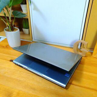 corei5でSSD搭載、メモリ12Gの超高性能NEC☆ 12.1インチのコンパクト軽量で持ち運び便利♪ オシャレな光沢シルバー♪  最新Windows10 64Bit!  高速PC★ NEC VersaPro   高級感  ノートパソコン 無線LAN Wi-Fi対応   - パソコン