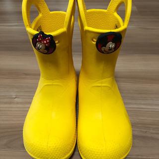 クロックス長靴18センチ