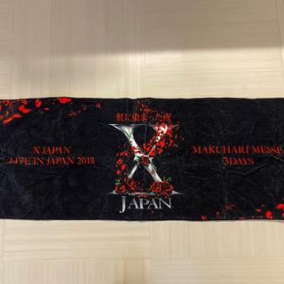 x japan tシャツ タオル 紅に染まった夜 ツアーグ…