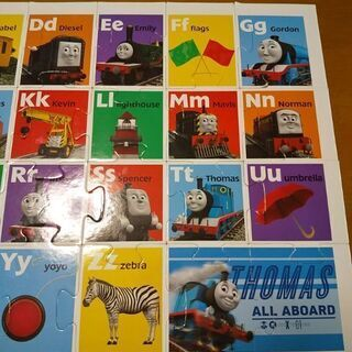 トーマスのアルファベットのパズル - おもちゃ