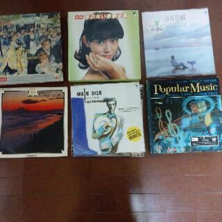昔のレコードいろいろあります。