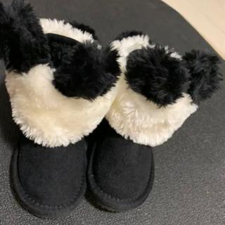 パンダのアニマルブーツ14cm