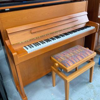 リビングにも映えるドイツ高級ピアノ シンメル116S アップライ...