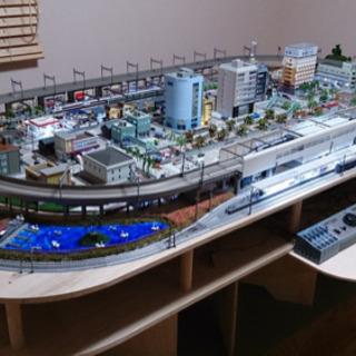 Nゲージ鉄道模型ジオラマ