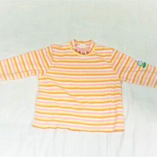 ☆激カワ♡サイズ95 女の子用冬物長袖Tシャツ☆<CORN…