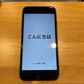 値下げ iPhone7 128GB  ブラック SIMフリ…