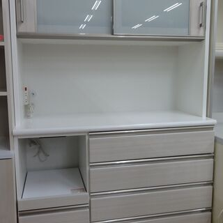 NITORI/ニトリ レンジボード 食器棚 ハイタイプ ポ…
