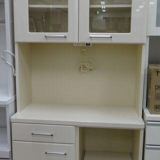 NITORI/ニトリ レンジボード 食器棚 ハイタイプ ク…