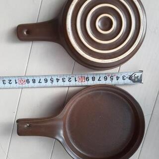 バーニャカウダーetc ソース温め 直火ok 二枚まとめて100円
