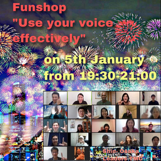 "Funshop ""Use you voice effective..."