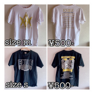 EXILE ライブ Tシャツ