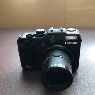 取引き決定【ジャンク品】Canon G12
