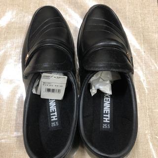未使用タグ付き紳士靴