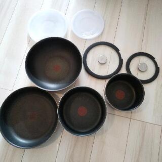 ティファール T-faL フライパンand鍋セット
