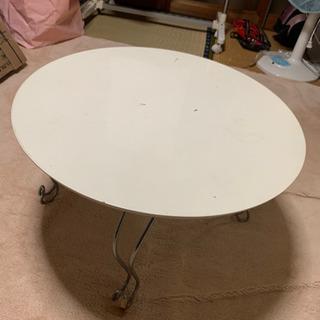 【ネット決済・配送可】丸型テーブル