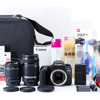 キャノン Canon EOS 9000D 標準&望遠ダブルレンズセット