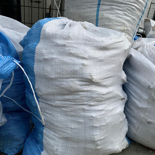 土、ガラ 土嚢袋 セメント コンクリート