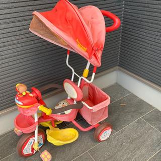 (決まりました)アンパンマン 三輪車