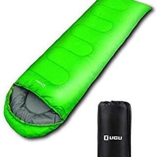 未使用品 寝袋用インナーシーツ 封筒型シュラフ