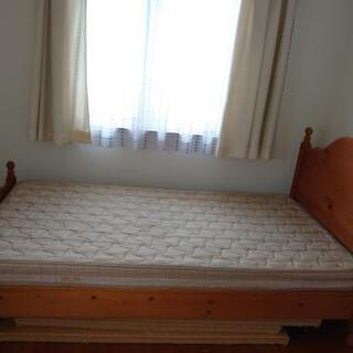 シングルベッド(ジャンク品)差しあげます。