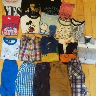 【19点セット!】サイズ120 男子 夏服 半袖