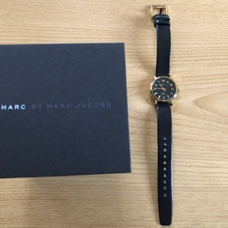 MARC by MARC JACOBS 時計 レディース 黒