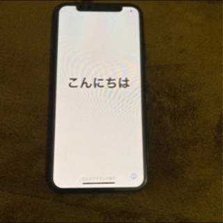 au iPhone X ブラック 64GB