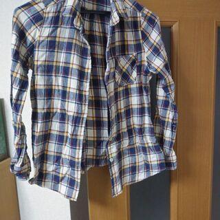 グローバルワークのチェックシャツ【Sサイズ】